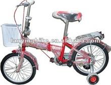 2012 new design folding kids bicycle
