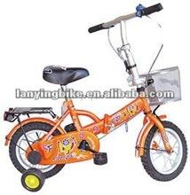 2012 new design foldable children bike