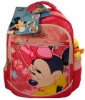 Red minnie girl's school bags