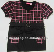 2012 beautiful girls T-shirts made in China