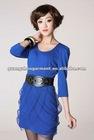 OEM casual frock from guangzhou garment factory