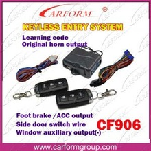 ACC output function universal remote keyless entry
