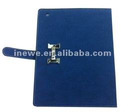 2012 New coming! high quality genuine leather case for iPad 3 New iPad