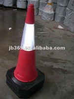 TRAFFIC ROAD CONE LOADED WITH SAND
