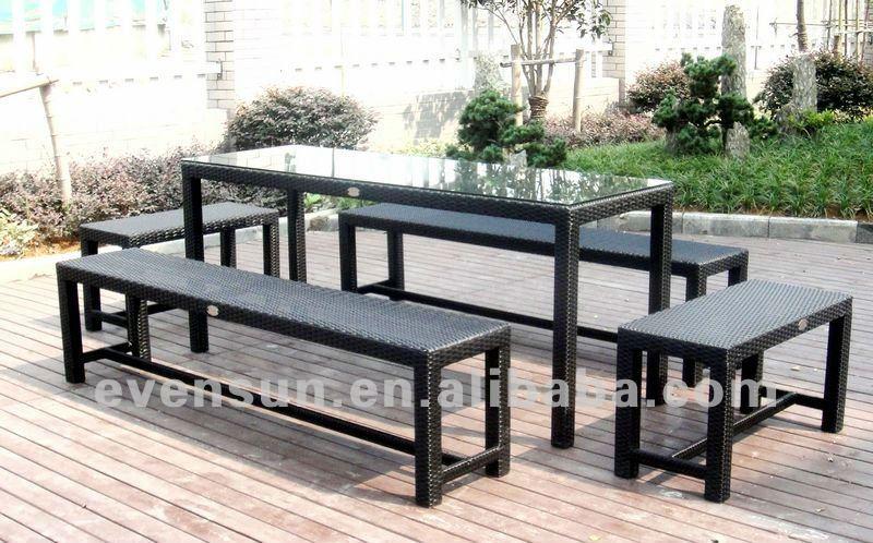 banco de jardim em ferro fundido : banco de jardim em ferro fundido:Wicker and Wrought Iron Bench