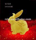 Handiwork-Fabric Gold Placer-Pure Metal Art Decorative Figurines Sports