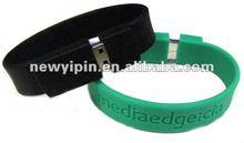 2012 economic OEM USB silicone wristband for promotion,1-32G