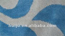machine made microfiber plush carpet