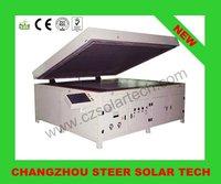 Low price 20% Discount PV digital control semi-automatic solar module Laminator