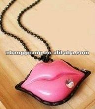 Hot Sale Fashion Jewelry, Lip Necklace