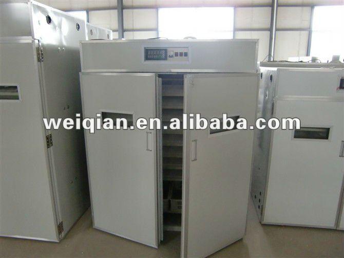 Wq-2640 pollo automática incubadora de criadero y