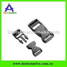 Plastic insert buckle