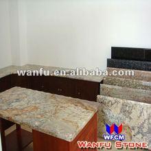 Moon Yellow Granite Kitchen Island Table