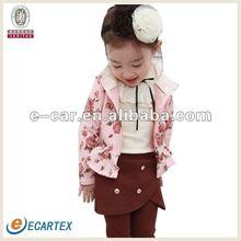 Fashion hooded kids clothing 2012