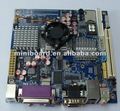 Mini-itx placa base con la cpu a bordo apoya dc 12v y fuente de alimentaci&oacute;n atx