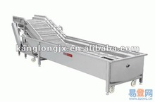 vegetables and fruit washing processing line machine