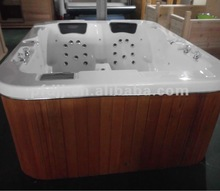 Luxury and Delicate Relaxing Acrylic Air Jet Massage Outdoor Spa Hot Tub