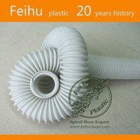 tubos blancos plasticos de pvc con hilo acerado