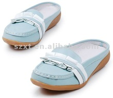 2012 fashion shoe/women closed shoes/lady casual slipper XT-SF366