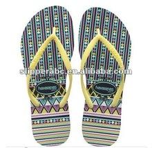 lady rubber Africa flip-flops