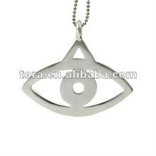 fashion plain Evil Eye Pendant necklaces jewelry