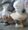 marble carved sexy lady decorative busts