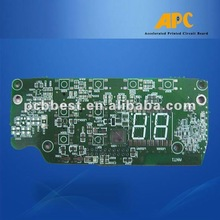 4-layer PCB with Impedance Control and 1mm Minimum pcb Trace Size
