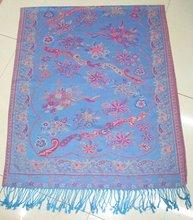 pashmina shawl,2012 unique printed flower pattern scarf ,selling hot flower muslim pashmina scarf