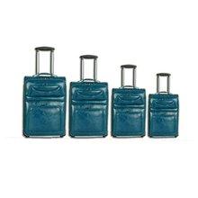 PU trolley luggage case