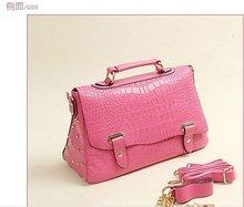 Women promotion handbag,lady crocodile multifunction PU bag