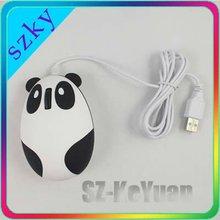 Hot sale mini USB Panda cute computer mouse
