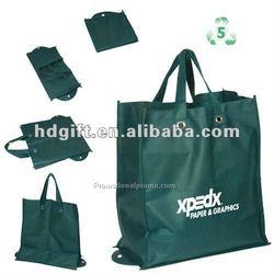 60-220gsm pp non-woven rose folding shopping bag