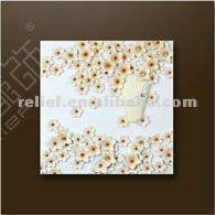 3d modern art flower painting 2012