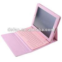 Hotsale! wireless bluetooth keyboard soft case for ipad