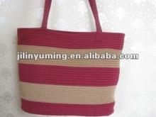 beautiful lady handcraft bag