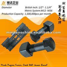 excavator spare parts M12 M14 M16 M18 M20 track bolt and nut