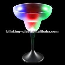 Light Up LED Flashing Margarita Glass