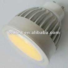 2012 newest modle gu10 COB LED spotlight 4w/6w/8w