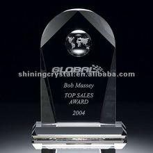 global achievement arch crystal award