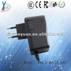 Multi plug shift led 0.5a 1a 1.25a 1.5a 13.8v power supply