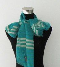 elegent stripe ladies chiffon long sesign shawl