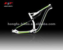Newest design in 2012 ! ! full suspension mtb carbon fiber frame, 29er full suspension carbon frame, carbon mountain bike frame