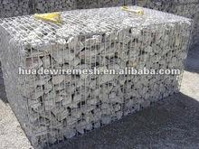 Hot-dipped Galvanized Gabion Box/Gabion Mats/gabion mesh