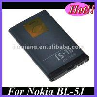 Free samples BL-5J mobile phone batterij For Nokia N900 X6 5230 5238