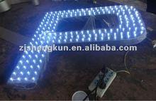 2012 LED lighted 3d promotional letter sign