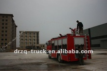 6000L dongfeng water and foam airport fire truck