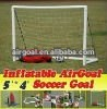 pvc football (Inflatable Portable 5`*4` Goal)