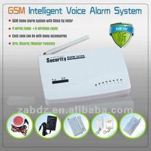 Smart Wireless Security a burglar alarm (GSM)