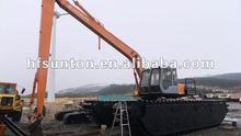 Hot! 2nd-hand Hitachi ZX200 Amphibious Excavator for sale!