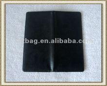 Black color money card holder cases with golden stamping logo